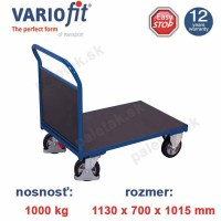 plosinovy vozik sw-700.182, sw-700.182, pushbar trolley, VARIOFT, vozik, plywood, high load, 1000 kg