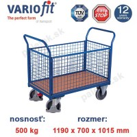 plosinovy vozik, 4 bocnice, variofit, four-sided trolley, sw-700.401