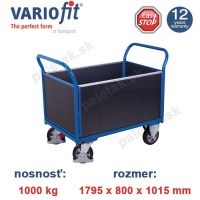 plosinovy vozik, 4 bocnice, variofit, four-sided trolley, preglejka sw-800.299