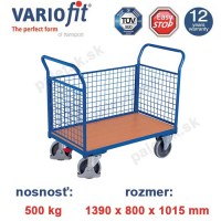 plosinovy vozik, 3 bocnice, variofit, three-sided trolley, sw-800.301